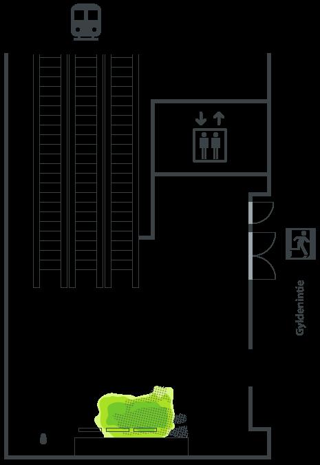 Gyldenintien sisäänkäynti