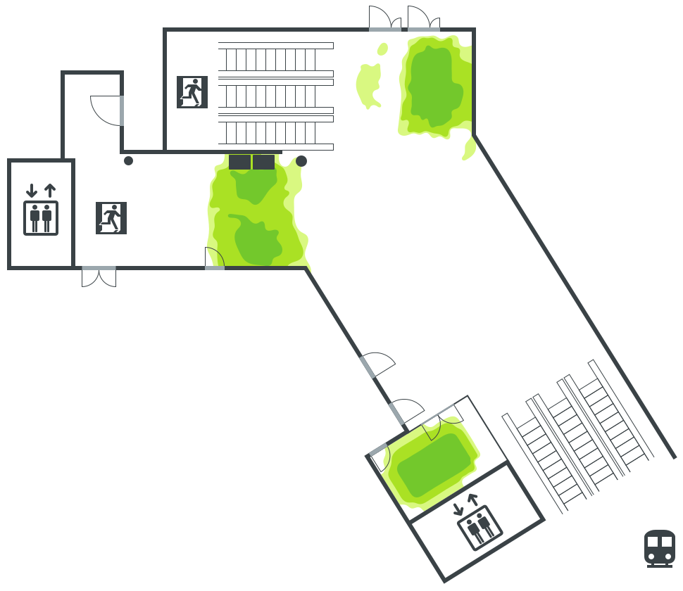Lippuhalli, Gyldenintie
