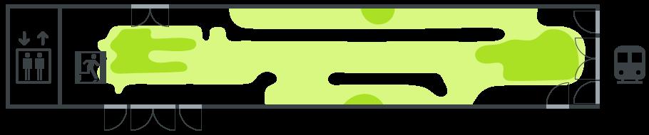 Hissiaula, länsi